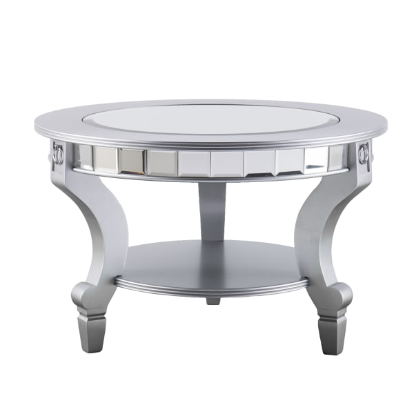 Mirrored Round Coffee Table
