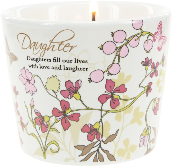 Daughter - 8 oz Soy Wax CandlenScent: Tranquility