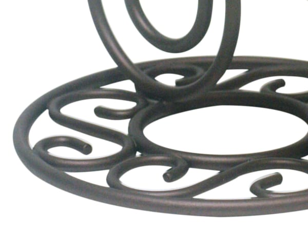 Scroll Collection Bronze Steel Banana Tree