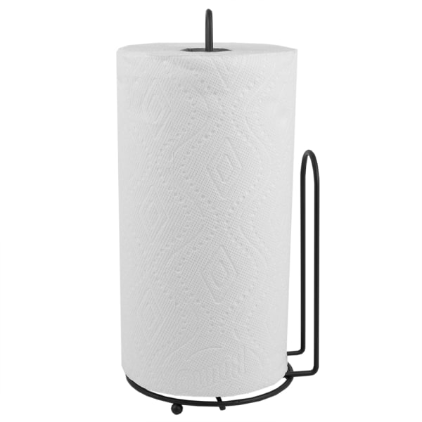 Free Standing Bronze Paper Towel Holder with Easy-Tear Arm