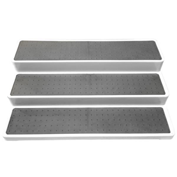 3-Tier Plastic Shelf Organizer