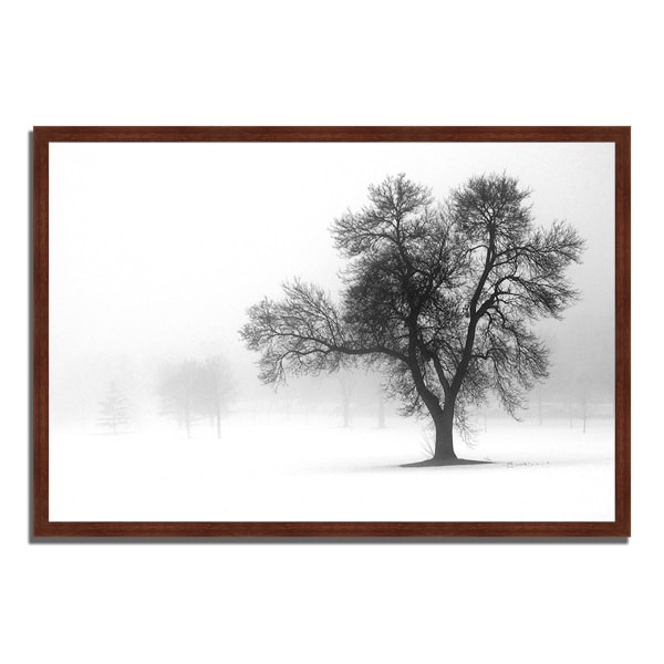 Framed Photograph Print 38 In. x 26 In. Reaching Out Multi Color