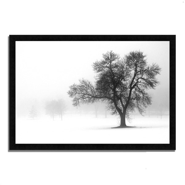 Framed Photograph Print 33 In. x 23 In. Reaching Out Multi Color