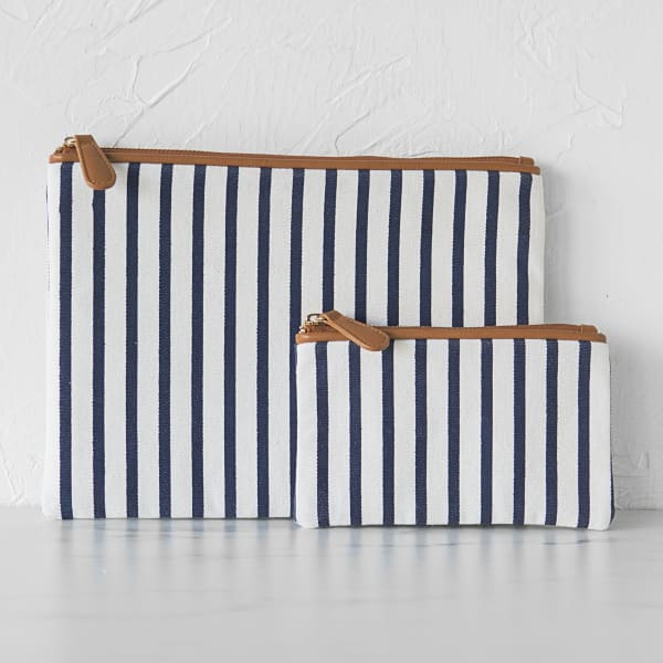 Cathy's Concepts Striped Clutch Set