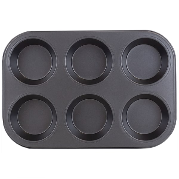 Non-Stick 6 Cup Muffin Pan