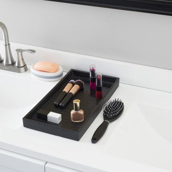 Black Vanity Tray