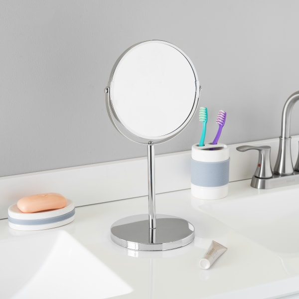 Chrome Plated Steel Double Sided Mirror