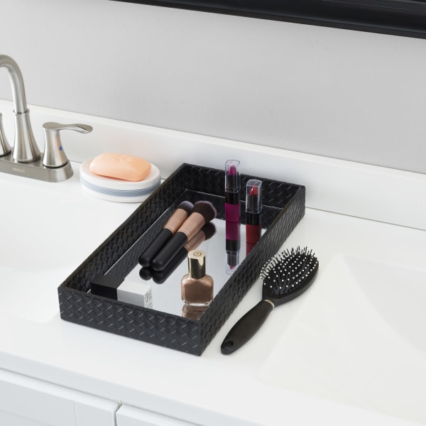 Decorative Vanity Tray with Mirror