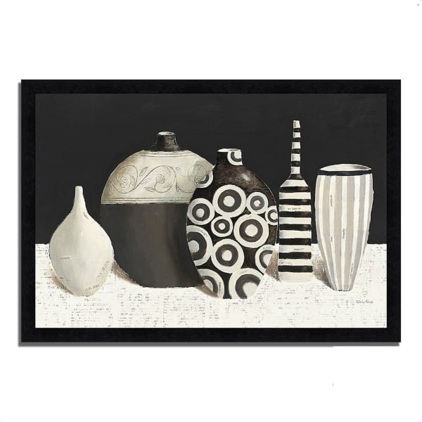 Framed Painting Print 39 In. x 27 In. Objet d'Art by Emily Adams Multi Color