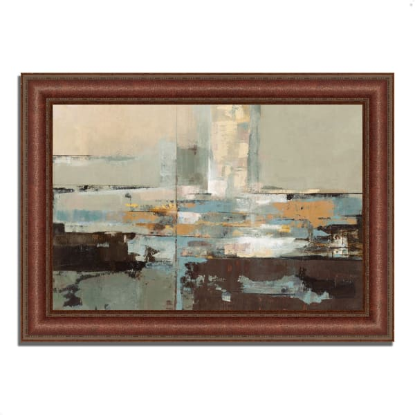 Framed Painting Print 64 In. x 45 In. Morning Haze by Silvia Vassileva Multi Color
