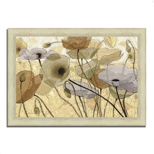 Framed Painting Print 36 In. x 26 In. Fluidity IV by Shirley Novak Multi Color
