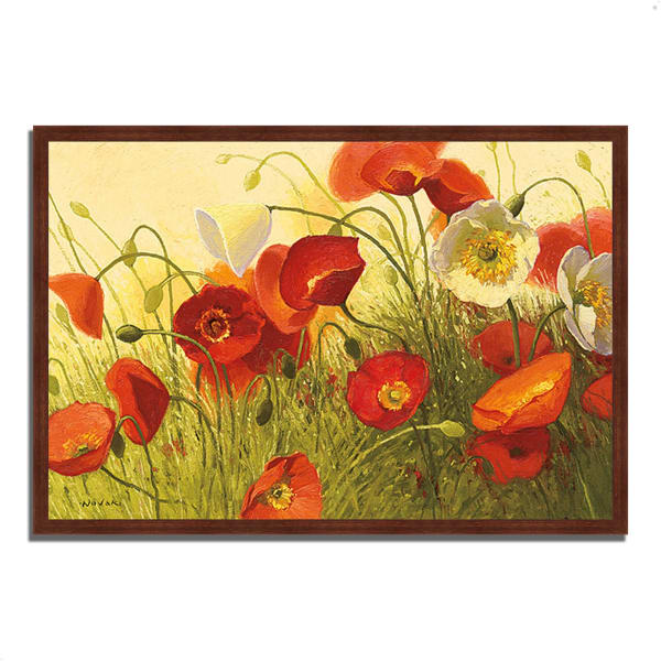 Framed Painting Print 47 In. x 32 In. Havin a Heat Wave by Shirley Novak Multi Color