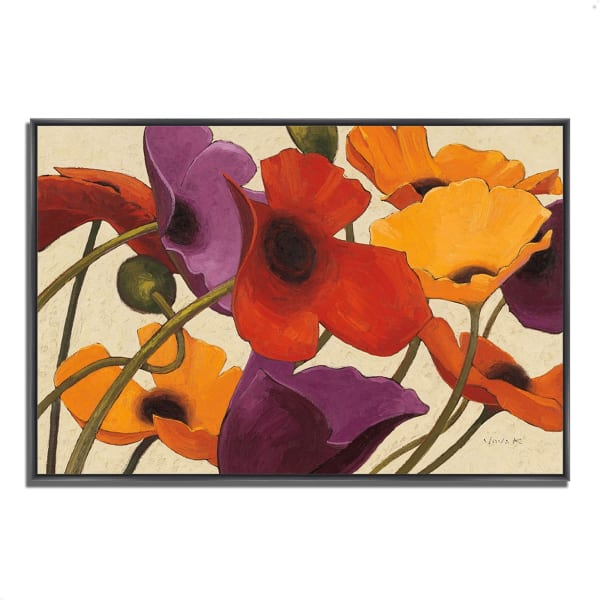 Fine Art Giclee Print on Gallery Wrap Canvas 59 In. x 40 In. Up Three by Shirley Novak Multi Color