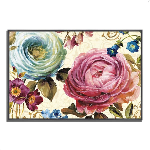 Fine Art Giclee Print on Gallery Wrap Canvas 38 In. x 26 In. Victoria's Dream III by Lisa Audit Multi Color