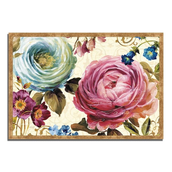 Framed Painting Print 38 In. x 26 In. Victoria's Dream III by Lisa Audit Multi Color
