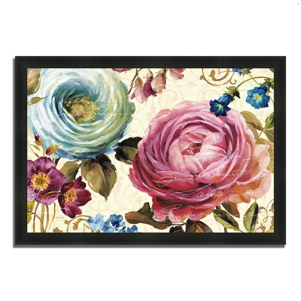 Framed Painting Print 60 In. x 41 In. Victoria's Dream III by Lisa Audit Multi Color