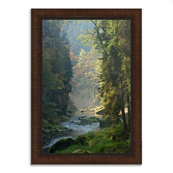 Framed Photograph Print 51 In. x 36 In. Paradise Found Multi Color