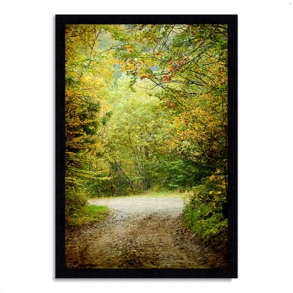Framed Photograph Print 39 In. x 27 In. Summers End Multi Color