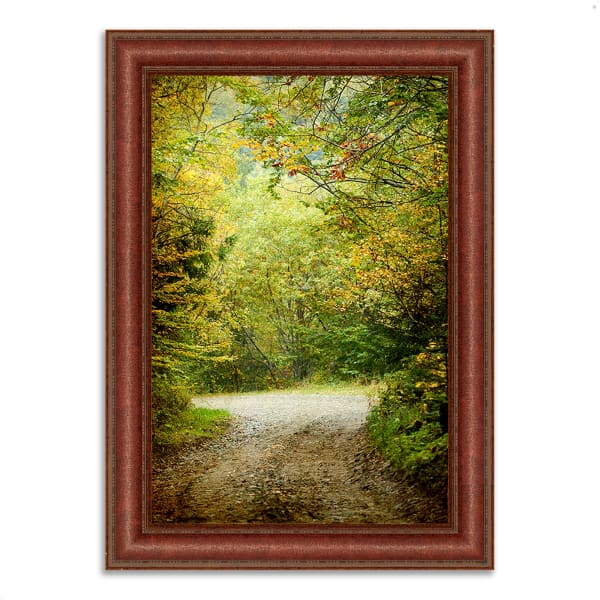 Framed Photograph Print 52 In. x 37 In. Summers End Multi Color