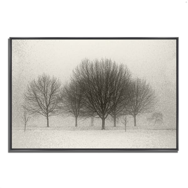 Fine Art Giclee Print on Gallery Wrap Canvas 32 In. x 22 In. Fading Memories Multi Color