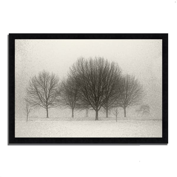 Framed Photograph Print 33 In. x 23 In. Fading Memories Multi Color