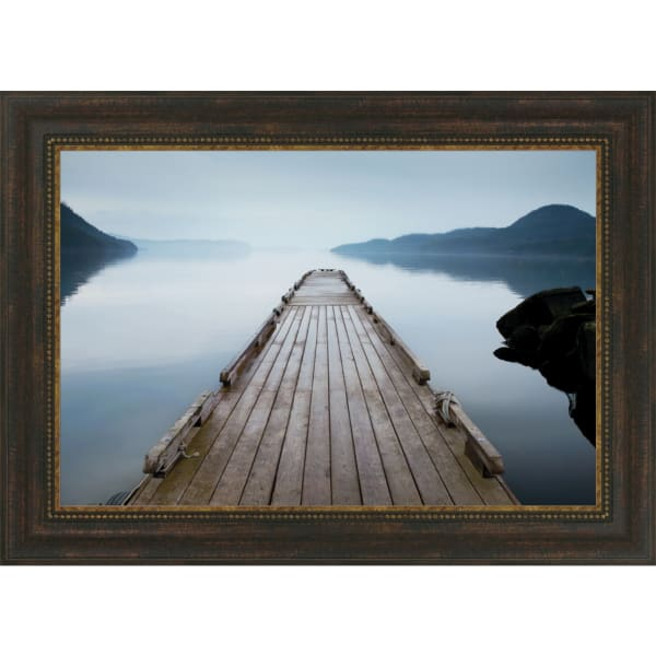Off Orcas Island By Michael Cahill, Framed Wall Art,