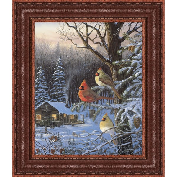 Cabin Fever By Terry Doughty, Framed Wall Art,