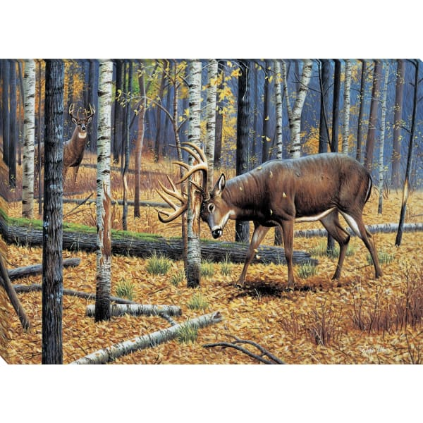Giclee Print on Gallery Wrap Canvas 36 In. x 24 In. Territorial Grounds By Cynthie Fisher Brown and Green