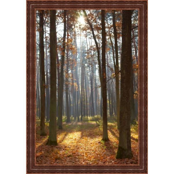 Autumn Forest Framed Wall Art,