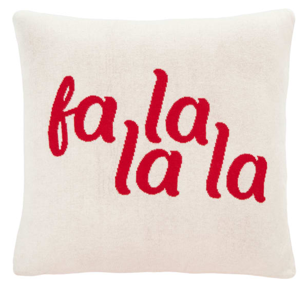 Carols Pillow in Red