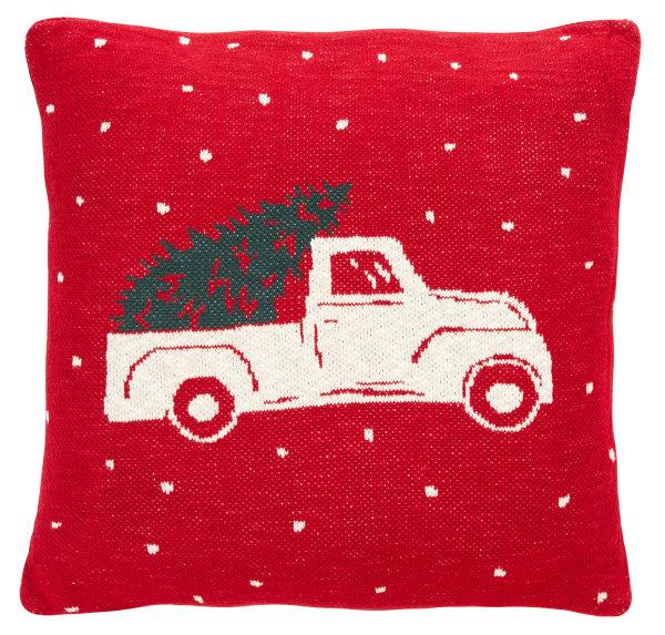 Homeward Pillow in Red
