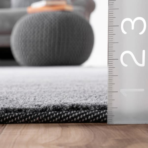 Hand Tufted Ombre Bernetta 5' x 8' Gray Rug