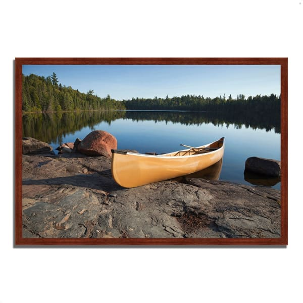 Framed Photograph Print 32 In. x 22 In. Invitation to Relax Multi Color