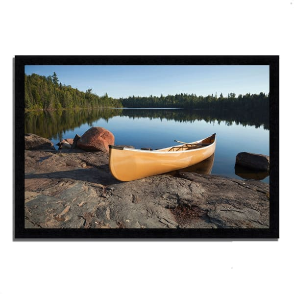 Framed Photograph Print 33 In. x 23 In. Invitation to Relax Multi Color