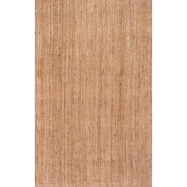 Ashli Solid Jute 5' x 8' Natural Jute Rug
