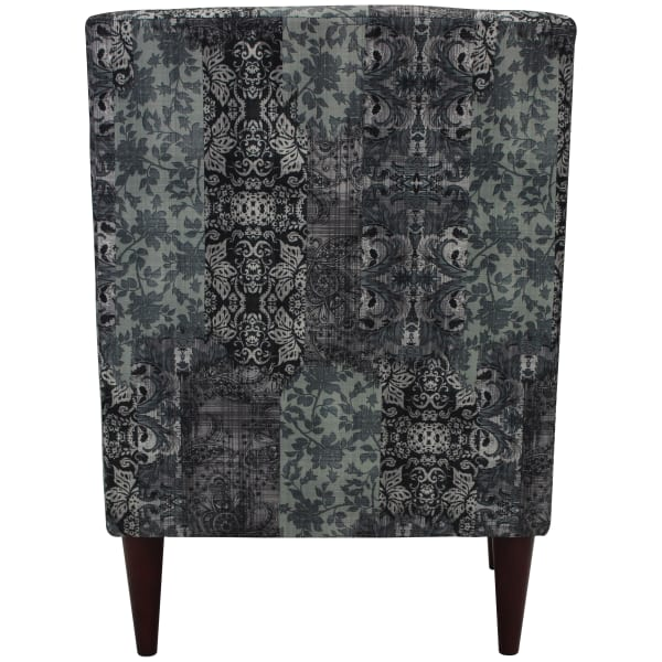 Emma Slate Print Arm Chair