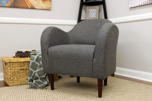 Gray Club Chair