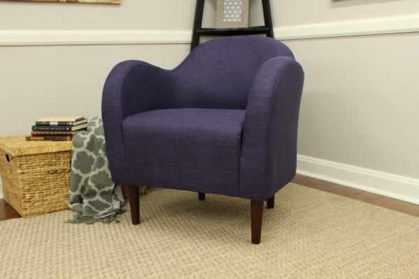 Eggplant Club Chair