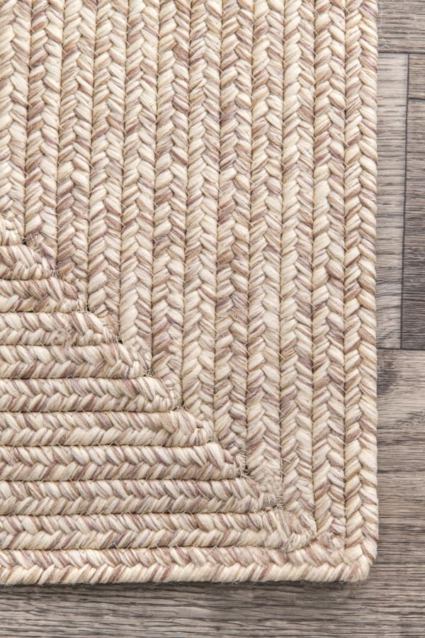 Braided Lefebvre Indoor/Outdoor 8' x 10' Tan Rug
