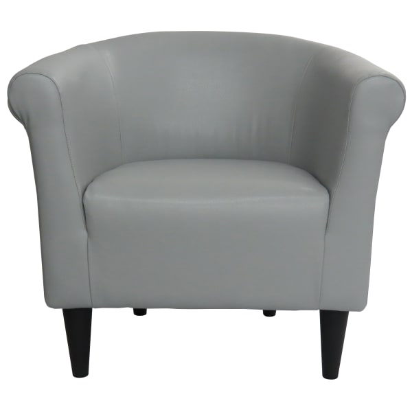 Gray Club Chair