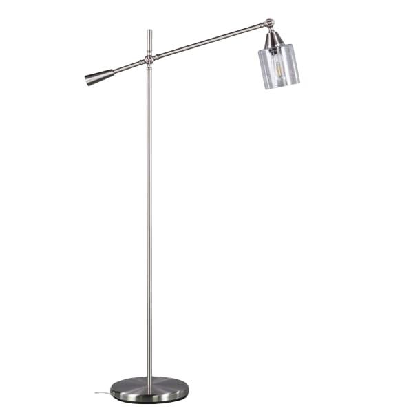 Brushed Nickel Floor Lamp