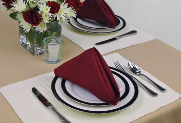 Ribbed Natural Placemats Set of 6