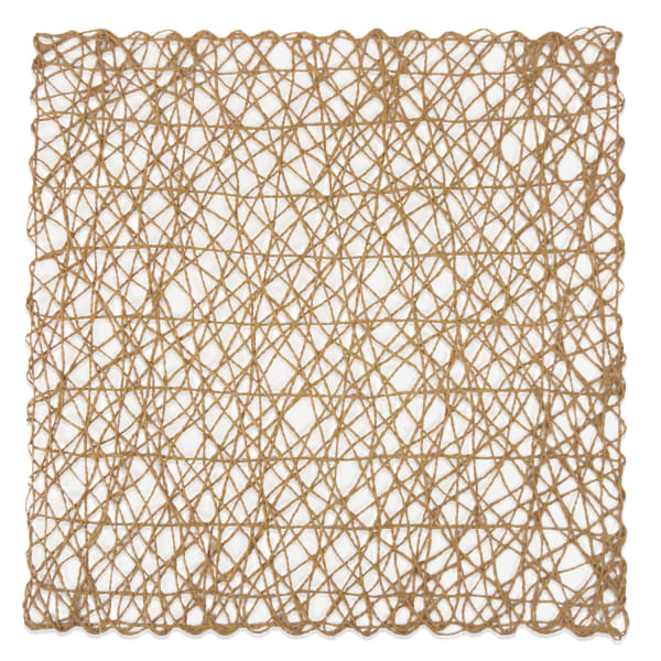 Taupe Square Paper Placemats Set of 6