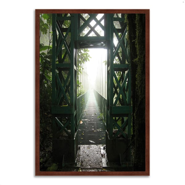 Framed Photograph Print 26 In. x 38 In. Destiny Multi Color