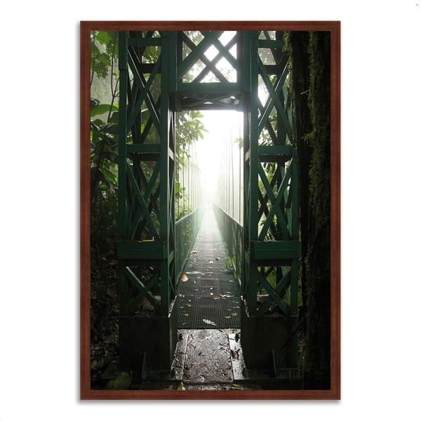 Framed Photograph Print 40 In. x 59 In. Destiny Multi Color