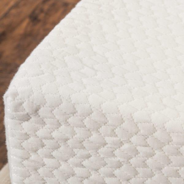 Basic White Memory Foam Full Mattress
