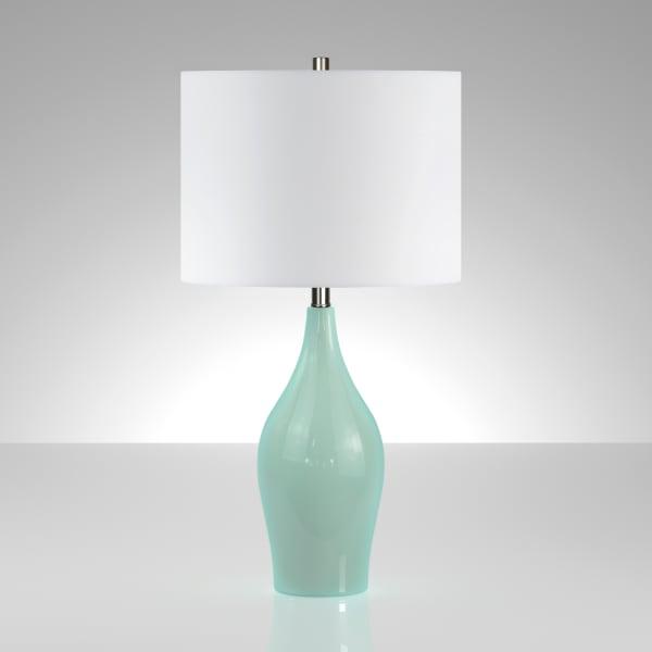 Bella Teal Porcelain Table Lamp