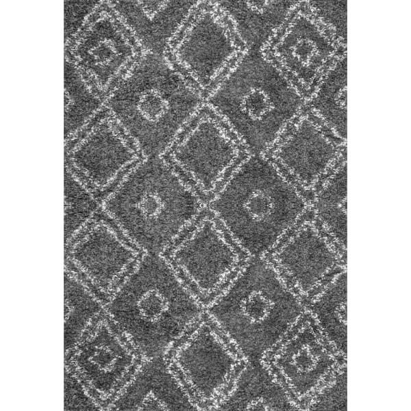 Iola Easy Shag 8' x 10' Gray Rug