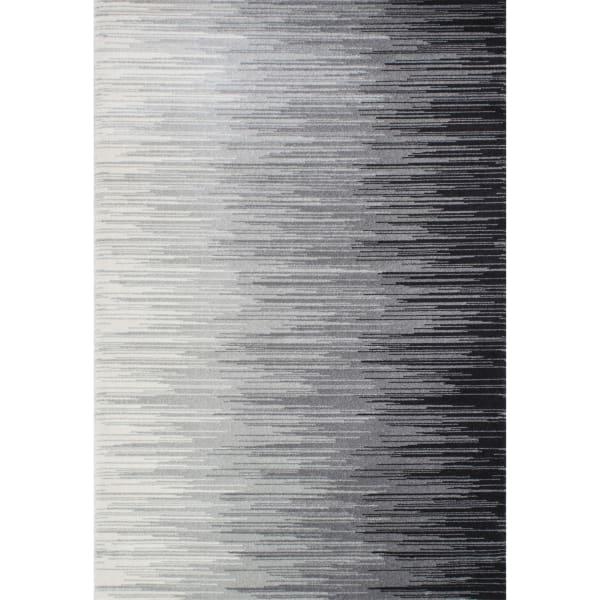 Lexie Black 8x10 Rug