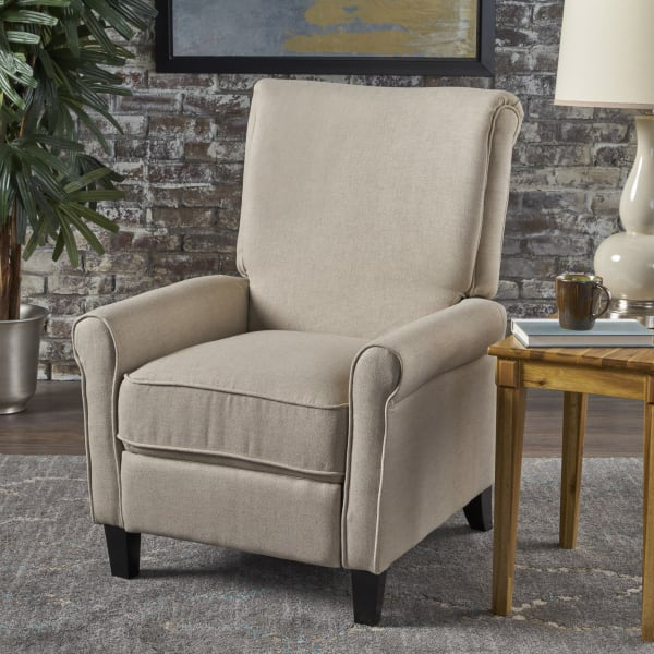 Traditional Wheat Recliner